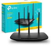 P-LINK TL-WR940N DRAADLOZE ROUTER SINGLE-BAND (2.4 GHZ) FAST ETHERNET ZWART