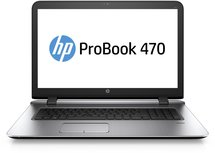 HP ProBook 470 G3 - Core i5-6200U - 8GB - 256GB SSD - DvDRW - 17.3 inch - Windows 10 Pro