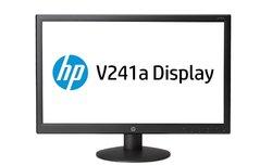 B-KEUZE - HP V241a - 24 inch - 1920x1080 - 16:9 - DVI-D - VGA - Zwart