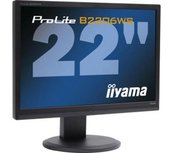 B KEUZE - IIYAMA Prolite PLB2206WS - 22 inch - 1680x1050 - 16:10 - DVI-D - VGA - Zwart