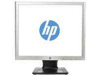 DEMO - HP Compaq LA1956x - 19 inch - 1280x1024 - 5:4 - DP - DVI-D - VGA - Zilver/Zwart