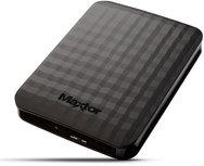 SEAGATE MAXTOR M3 - 2TB Externe HDD - 2,5 inch - USB 3.0 - Zwart