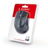Gembird - Muis draadloos - USB Nano ontvanger - Zwart
