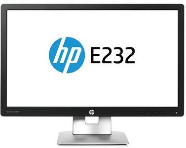 "HP EliteDisplay E232 - 23"" - 1920x1080 (Full HD) - DisplayPort - HDMI - VGA - Zwart/Zilver - B Grade"