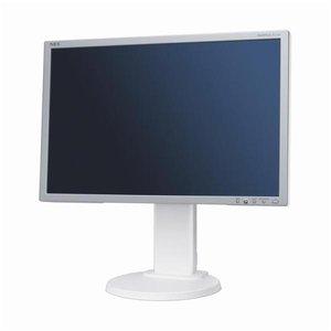 NEC MultiSync E222W - 22 inch - 1680x1050 - 16:10 - DVI-D - VGA - Zilver/wit