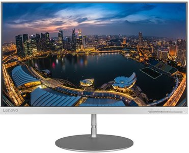 Lenovo L24q-10 - 24 inch - 2560x1440 - 16:9 - DisplayPort - HDMI - Zilver