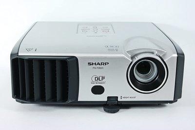 Sharp PG-F262X- 1024x768 - 4:3 - S-Video - VGA - Composite - DVI-I - Zilver