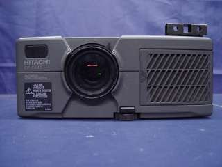Hitachi CP-X940 - 1024x768 - 4:3 - S-Video - VGA - Composite - Zwart