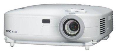 B-KEUZE - NEC VT595 - 1024x768 - 4:3 - S-Video - VGA - Composite - Wit