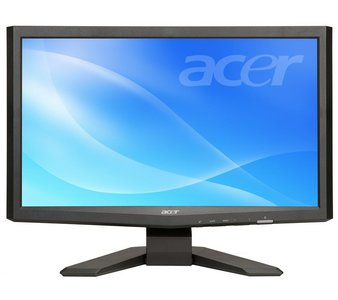 C-KEUZE: Acer X233h - 23 inch - 1920x1080 - 16:9 - VGA - DVI - Zwart